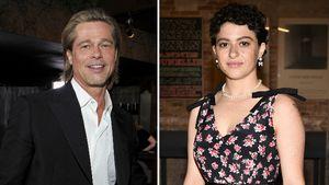 Sind Brad Pitt und Alia Shawkat schon zusammengezogen?