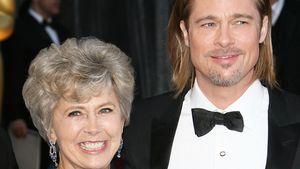Brad Pitt und seine Mutter Jane Etta Pitt bei der Oscar-Verleihung 2012