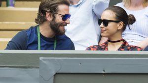 Bradley Cooper und Irina Shayk bei einem Tennis-Turnier in London
