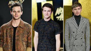 Brandon Flynn, Dylan Minnette und Miles Heizer bei den MTV Movie Awards 2017