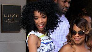 Zurück zum Afro! Brandy zeigt ihre Powerlocken