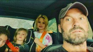 Selten: Brian Austin Green teilt Foto mit seinen drei Kids