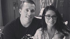 Bristol Palin und ihr Mann Dakota Meyer mit ihrem Baby