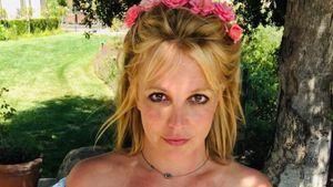 18 Fotos im selben Top: Ruft Britney Spears hier um Hilfe?