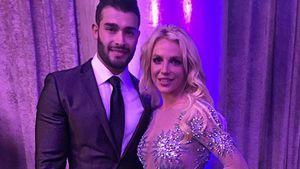 Britney Spears und Freund Sam Asghari bei einer Grammy-Party