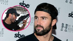 Prost! Brody Jenner trinkt einen Drink aus seinem Schuh
