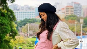 Risiko zu hoch: Schwangere Bruna kann Familie nicht besuchen