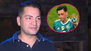"""""""Mit Stolz und Ehre"""": Bülent Sharif steht hinter Mesut Özil!"""