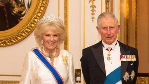 Camilla Parker Bowles und Prinz Charles bei einem Event im Buckingham Palast