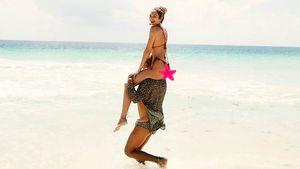 Model Candice Swanepoel: In diesem Paradies schaltet sie ab!
