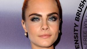 "Cara Delevingne auf dem ""Scandaleyes Reloaded Mascara""-Event in London"