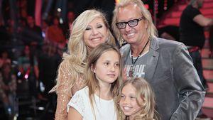 Carmen, Robert, Davina und Shania Geiss
