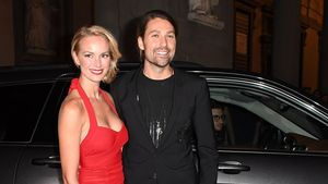 "Caroline Campbell und David Garrett beim ""Celebrity Fight Night Gala""-Dinner in Florenz"