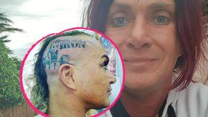 """Krass: """"Goodbye Deutschland""""-Caro hat jetzt ein Kopf-Tattoo!"""