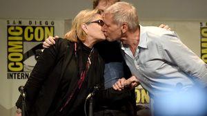 Carrie Fisher und Harrison Ford bei der Comic Con 2015