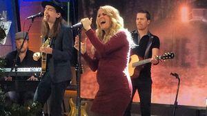 Carrie Underwood: Performance mit süßer Baby-Kugel