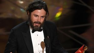 Casey Affleck bei der Oscar-Verleihung in Hollywood 2017
