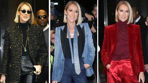 Megastylish: Céline Dion begeistert mit Monochrom-Looks!