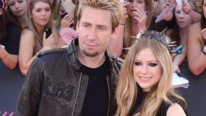Chad Kroeger froh über Avril Lavignes Krankheits-Beichte