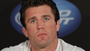 Chael Sonnen bei der UFC 148 pre-fight press conference in Las Vegas