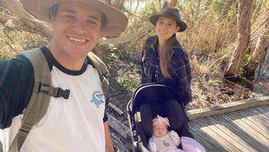 Bindi Irwin und Chandler machen Familienausflug mit Baby