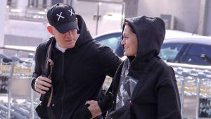 Neue Bilder: Channing & Jessie turteln am Londoner Flughafen