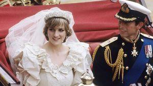 Prinzessin Diana und Prinz Charles bei ihrer Hochzeit