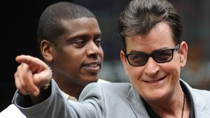 Charlie Sheen in New York