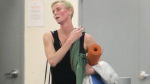 Hochroter Kopf: Charlize Theron nach Yoga-Session gesichtet