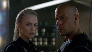 "Charlize Theron und Vin Diesel in ""Fast & Furious 8"""