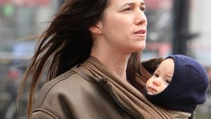 Süß! Charlotte Gainsbourg mit Baby Joe in Berlin