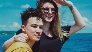 Cheng Loew und Sabrina in Afrika