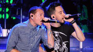Chester Bennington & Mike Shinoda auf einem Konzert