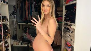 37. Woche: Chiara Ferragni gibt ein nacktes Babybauch-Update
