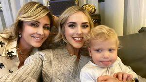 Drei Generationen Ferragnis: Chiara teilt süßes Familienfoto