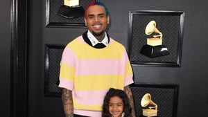 So süß! Chris Brown bringt Tochter Royalty Basketball bei