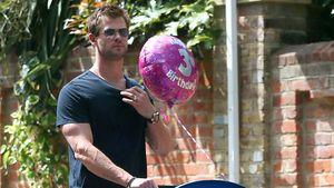 Chris Hemsworth im Geburtstagsglück mit Tochter India