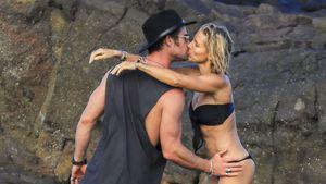 Heiße Küsse am Strand: Chris Hemsworth so verliebt in Elsa