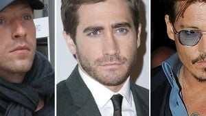Johnny Depp, Chris Martin und Jake Gyllenhaal