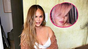 Umstyling: Chrissy Teigen überrascht mit neuer Haarfarbe!