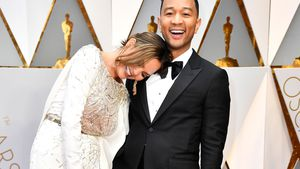 Chrissy Teigen und John Legend bei den Oscars 2017