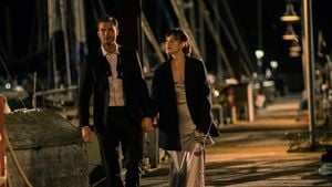 Christian Grey (Jamie Dornan) und Anastasia Steele (Dakota Johnson)