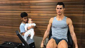 Früh übt sich? Cristiano Ronaldo nimmt seine Kids ins Gym