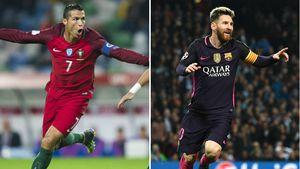 Christiano Ronaldo und Lionel Messi