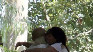 Fotos: Hier heult sich Christina Aguilera aus