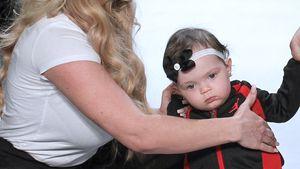 """Coco Austin und ihre Tochter Chanel auf dem Cat-Walk der """"Rookie USA""""-Show"""