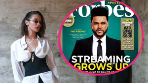 Frieden mit Ex? Bella Hadid liked The Weeknds Forbes-Cover