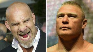 Goldberg vs. Lesnar: Das tippen die deutschen Wrestler!