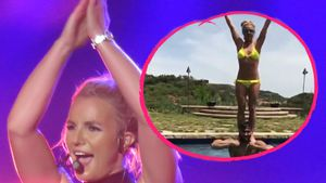 Collage: Britney Spears und Sam Asghari