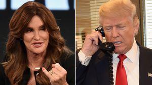 Caitlyn Jenner und Donald Trump